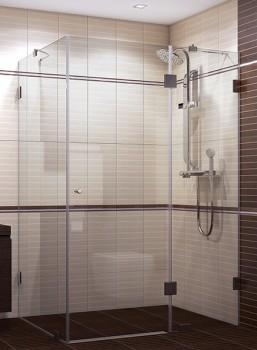 Параван за баня от закалено стъкло