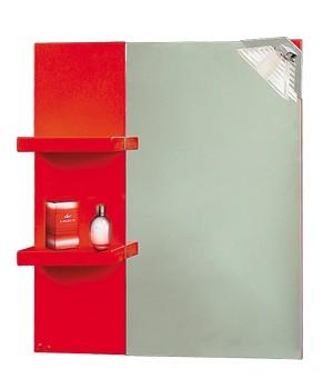 Горен шкаф за баня от PVC със стилен дизайн.
