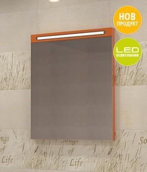 Горен шкаф за баня от PVC със стилен дизайн